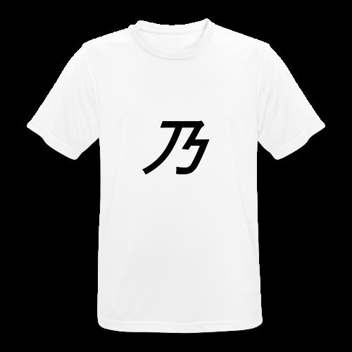 B Logo - Herre T-shirt svedtransporterende