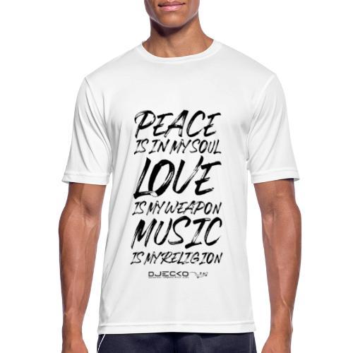 Djecko blk - T-shirt respirant Homme