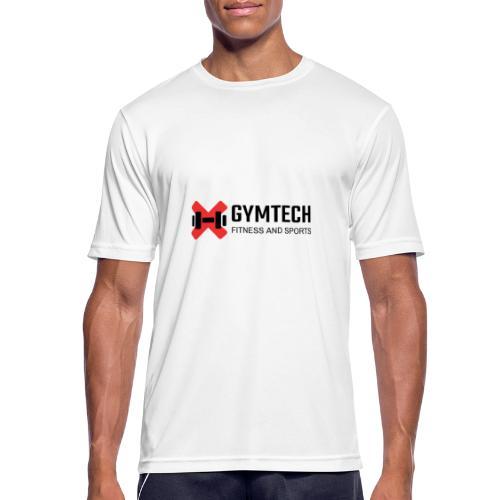 Gymtech logo - Andningsaktiv T-shirt herr
