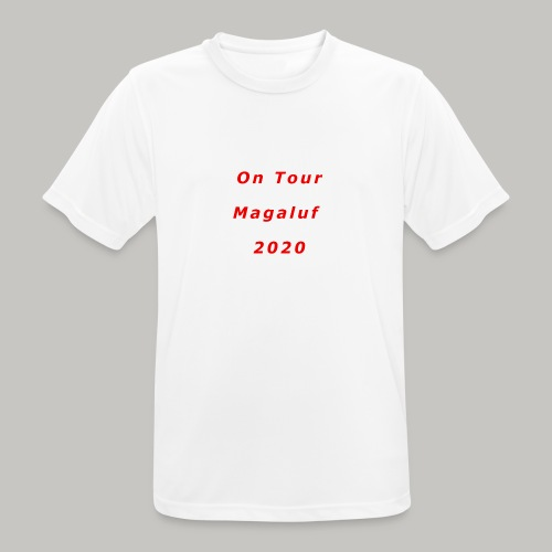 On Tour In Magaluf, 2020 - Printed T Shirt - Men's Breathable T-Shirt