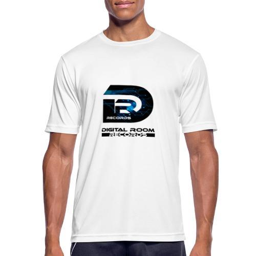 Digital Room Records Official Logo effect - Men's Breathable T-Shirt