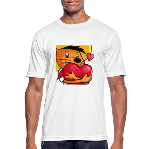 Love 3 copy - Herre T-shirt svedtransporterende