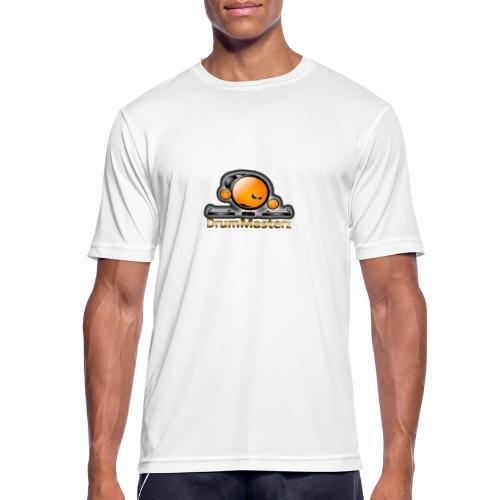 DrumMasterz Logo - Männer T-Shirt atmungsaktiv