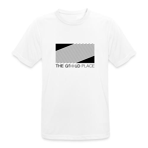 THE GOOOD PLACE LOGO - Mannen T-shirt ademend actief
