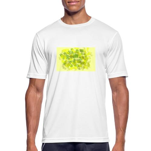 greenandyellow - Camiseta hombre transpirable