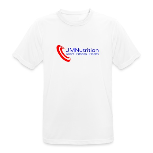 JMNutrition logo Red (tra - Men's Breathable T-Shirt