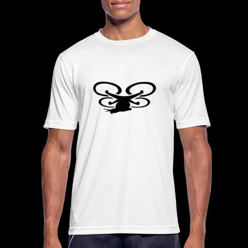Einseitig bedruckt - Männer T-Shirt atmungsaktiv