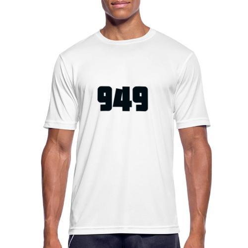 949black - Männer T-Shirt atmungsaktiv