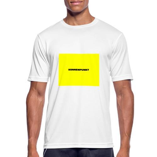 Sonnenpunkt schriftart - Männer T-Shirt atmungsaktiv