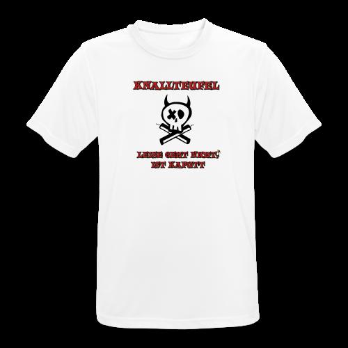 Knallteufel - Männer T-Shirt atmungsaktiv
