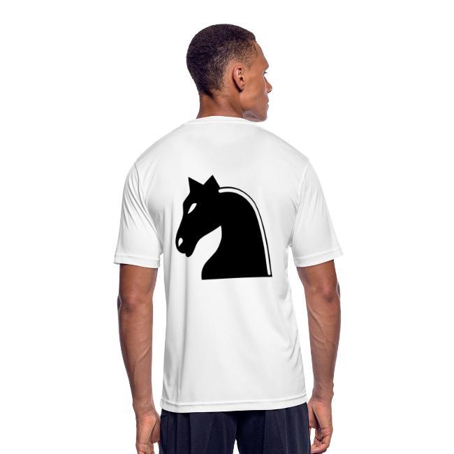 KING KAYA T - Shirt Black Chess