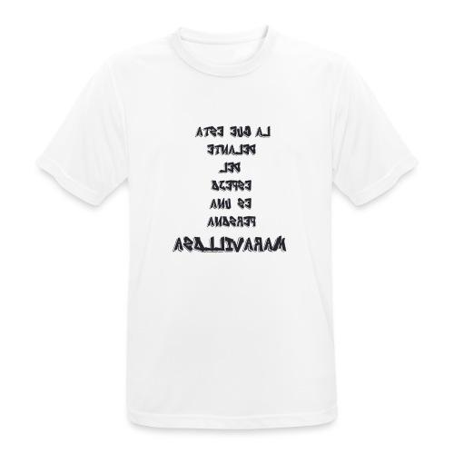 Para el Espejo:PERSONA MARAVILLOSA - Camiseta hombre transpirable