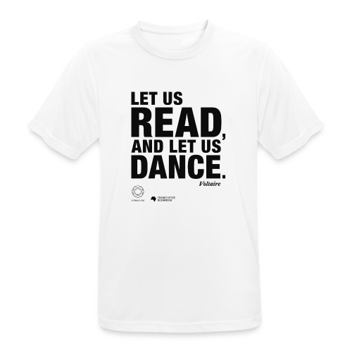 LET US READ | Bookish Merch - Männer T-Shirt atmungsaktiv