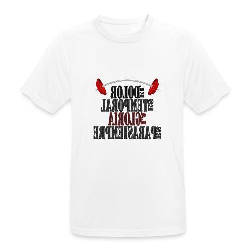 Para el Espejo: GYM - DOLOR TEMPORAL - Camiseta hombre transpirable