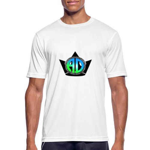 A.D. LOGO - Männer T-Shirt atmungsaktiv