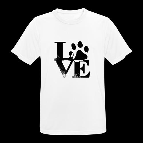 LOVE - T-shirt respirant Homme
