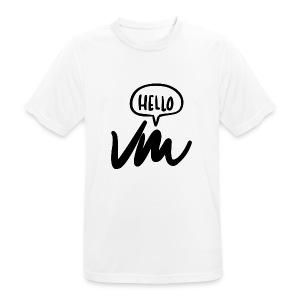 VM Hello! - Men's Breathable T-Shirt