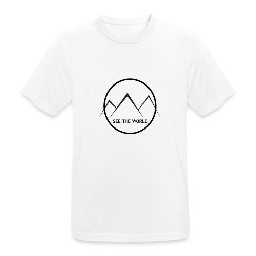 Lake The World - Men's Breathable T-Shirt