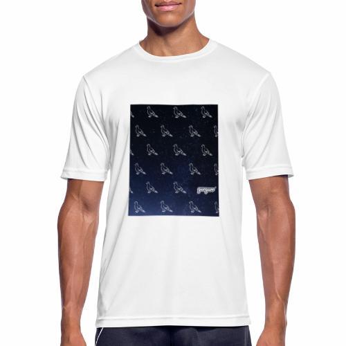 pigeonarmay in space - Männer T-Shirt atmungsaktiv