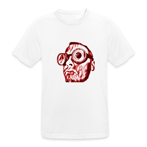 Face Tegner Red Grande - Herre T-shirt svedtransporterende
