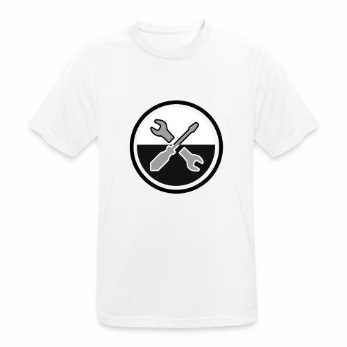 noir & gris - T-shirt respirant Homme