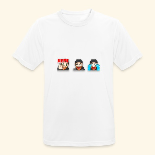 3Emotes - Men's Breathable T-Shirt