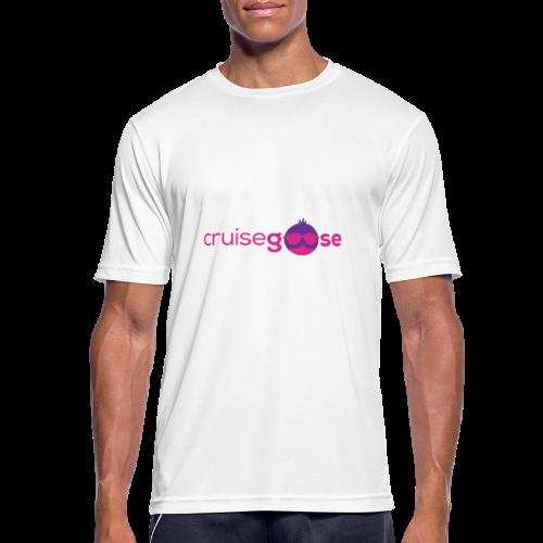 cruisegoose 01 - Männer T-Shirt atmungsaktiv