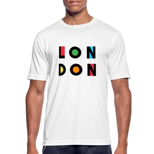 Vintage London Souvenir - Retro Modern Art London - Männer T-Shirt atmungsaktiv