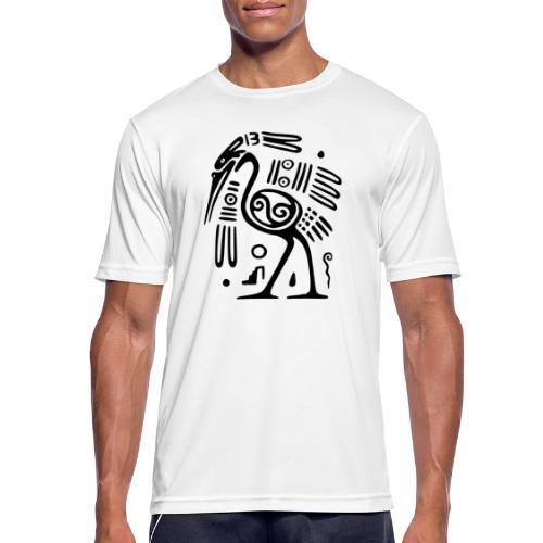 Kranich - Männer T-Shirt atmungsaktiv