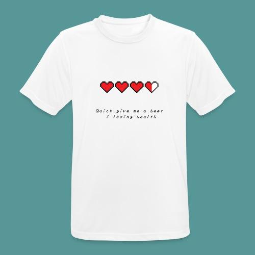 The Legend of Drunk - Mannen T-shirt ademend