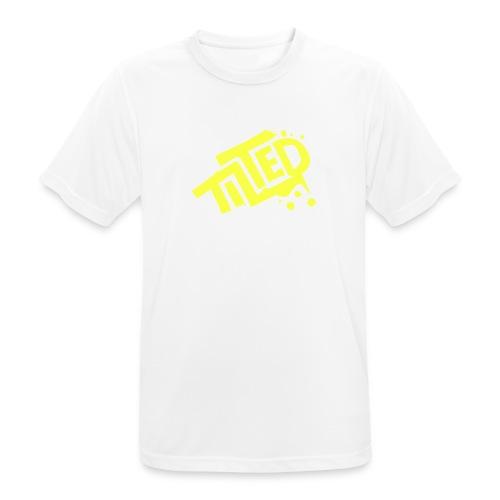 Fortnite Tilted (Yellow Logo) - Men's Breathable T-Shirt