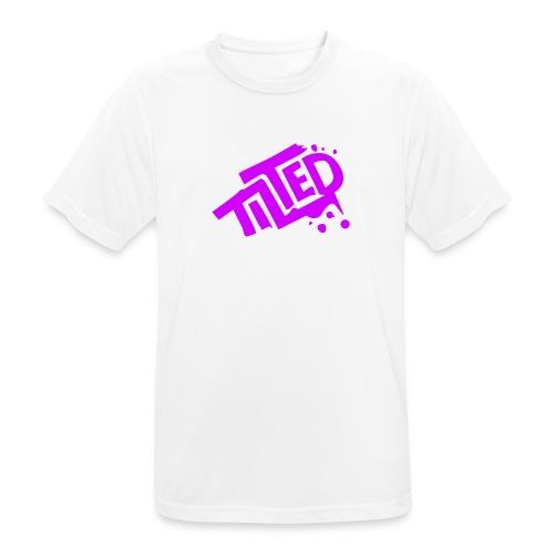 Fortnite Tilted (Pink Logo) - Men's Breathable T-Shirt