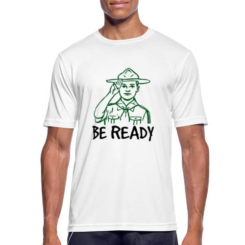 BE READY - T-shirt respirant Homme