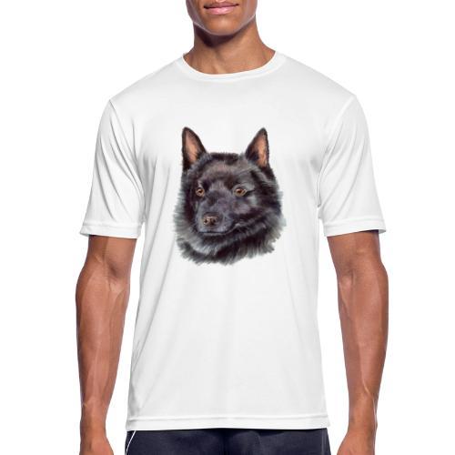 schipperke - M - Herre T-shirt svedtransporterende