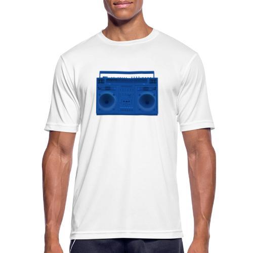 Bestes Stereo blau Design online - Männer T-Shirt atmungsaktiv