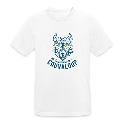 Original Blue Logo - T-shirt respirant Homme