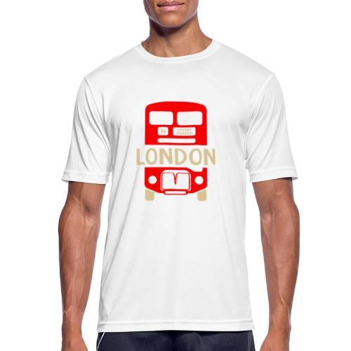 London Bus Roter Doppeldecker London Fan Souvenir - Männer T-Shirt atmungsaktiv