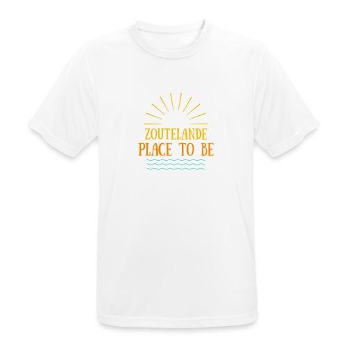Zoutelande - Place To Be - Männer T-Shirt atmungsaktiv