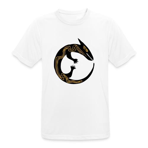 lizard - Maglietta da uomo traspirante
