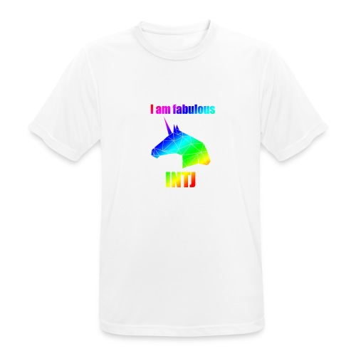 INTJ - Koszulka męska oddychająca