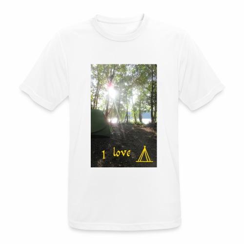 camping - Mannen T-shirt ademend actief