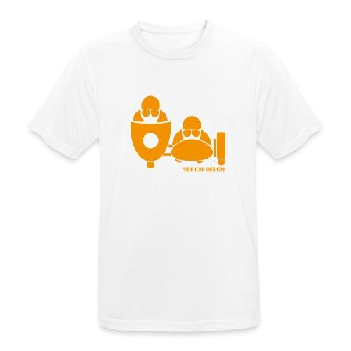 BASSET LOGO orange - T-shirt respirant Homme