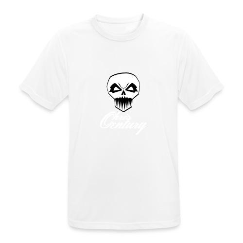 logo Chris Century blanc - T-shirt respirant Homme