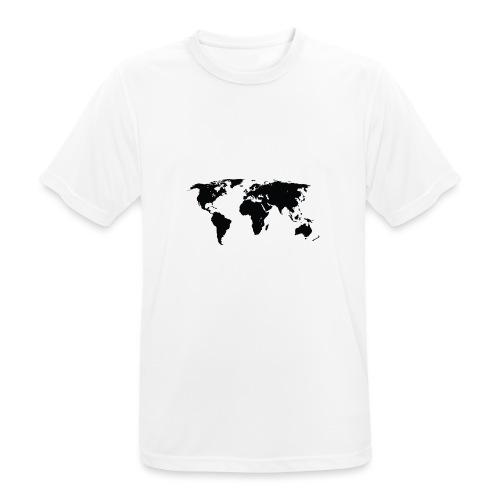 World - Herre T-shirt svedtransporterende