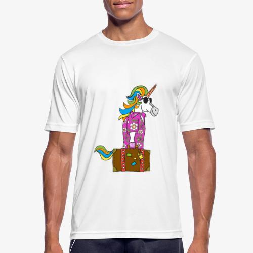 Unicorn trip - T-shirt respirant Homme