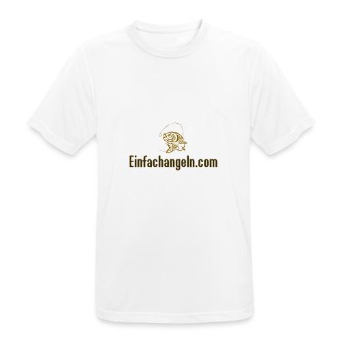 Einfachangeln Teamshirt - Männer T-Shirt atmungsaktiv