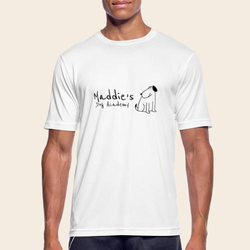 Académie des chiens de Maddie (noir) - T-shirt respirant Homme