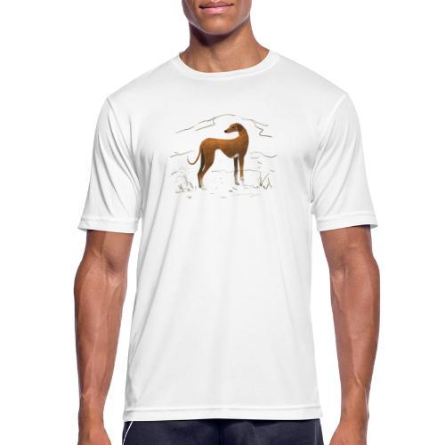 Azawakh - Männer T-Shirt atmungsaktiv