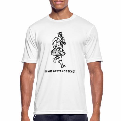 Lange Afstandsschot - mannen T-shirt ademend