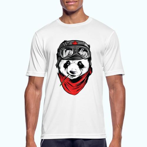 Panda pilot - Men's Breathable T-Shirt